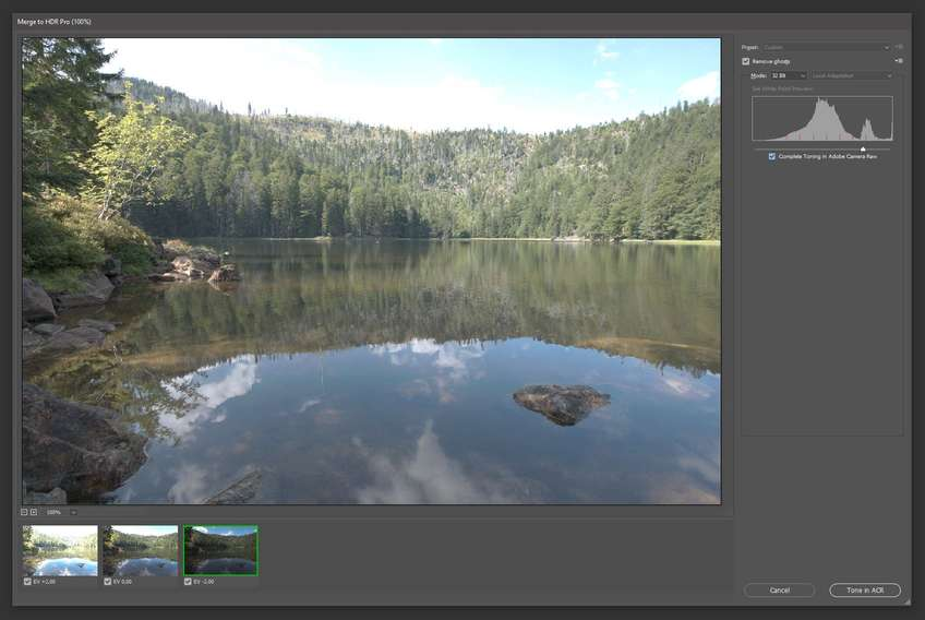 hdr preview window