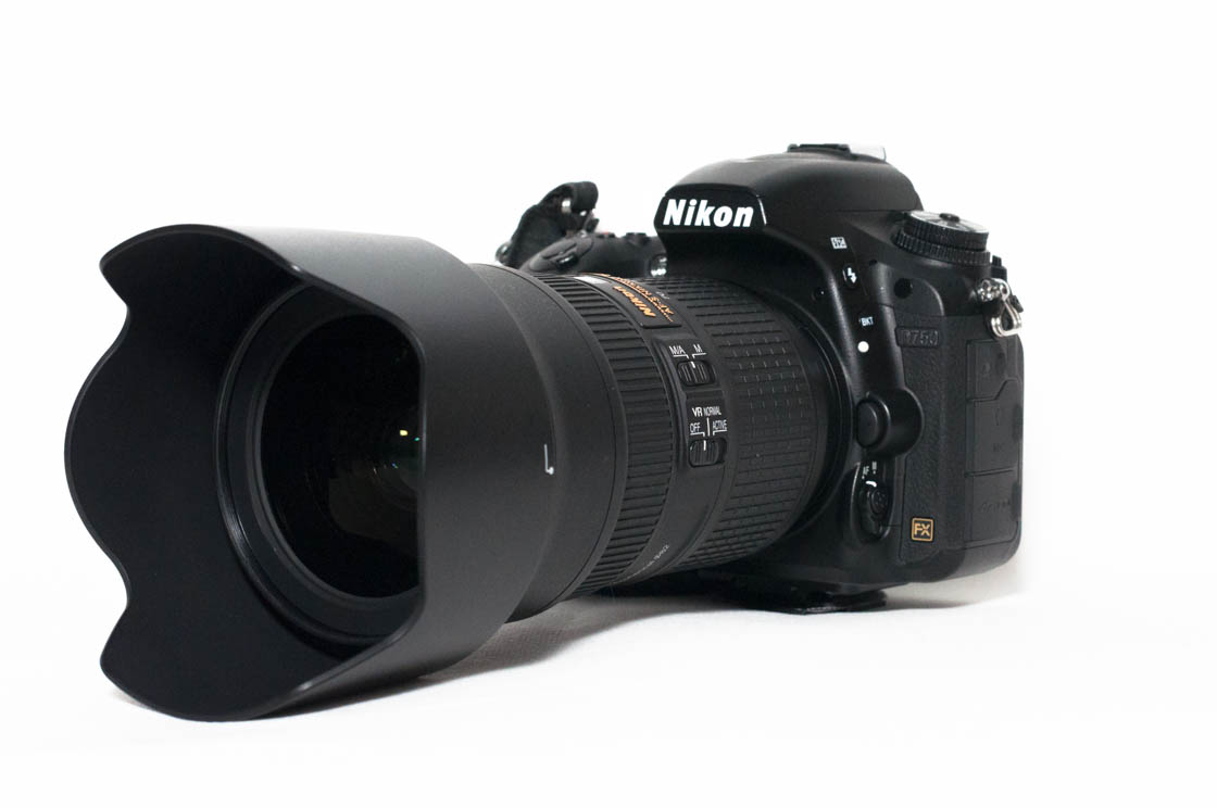 Nikon AF-S Nikkor 24-70 mm f/2.8 ED VR on Nikon D750