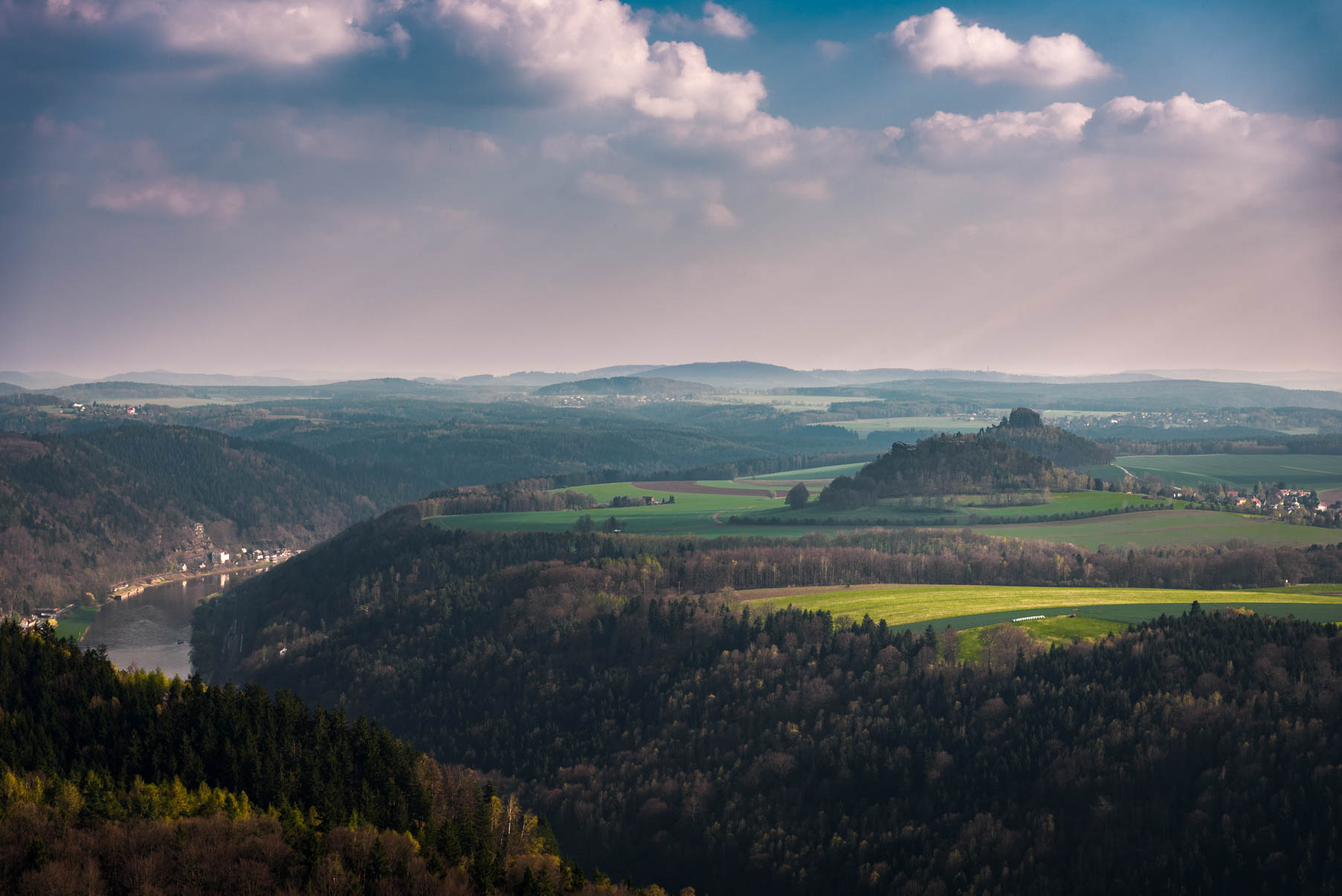 Saxon Switzerland - at 70 mm f/8, 1/160, ISO 50 RAW and final edit