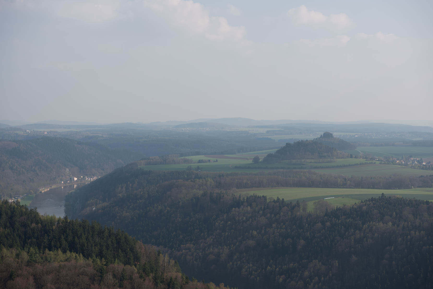 Saxon Switzerland - at 70 mm f/8, 1/160, ISO 50 RAW
