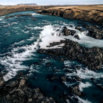 iceland_waterfall_canyon_aerial