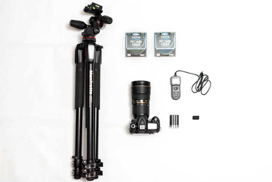 equipment for long exposure