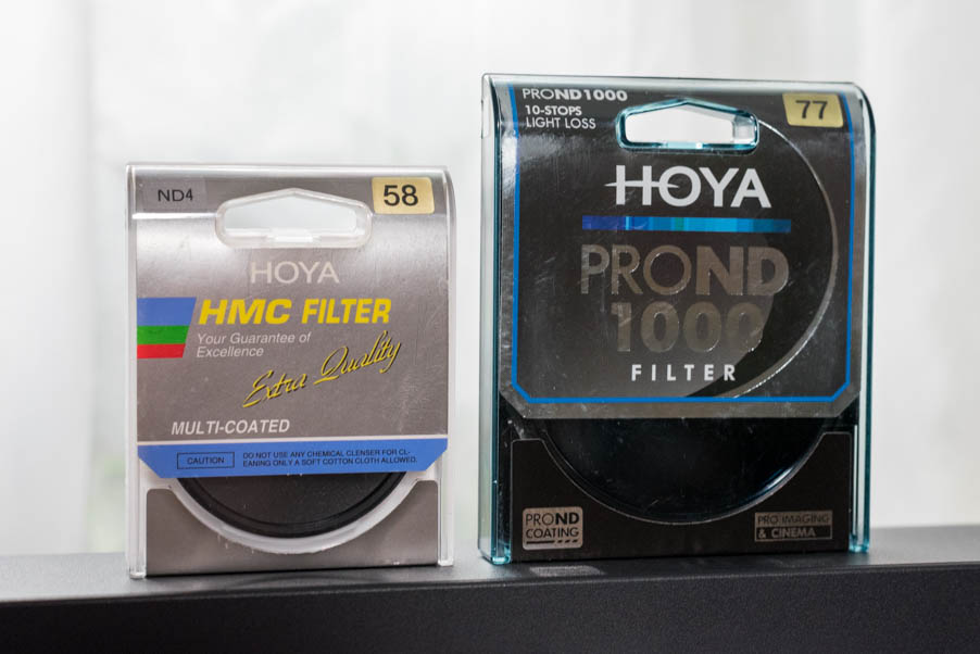 filters in different sizes and strength