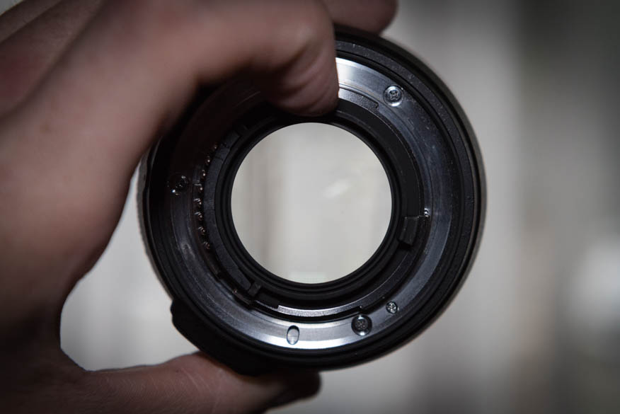 Open aperture, smallest f-stop number