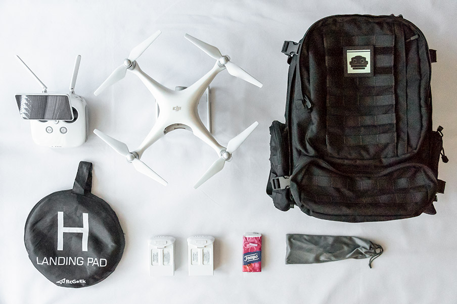 drone backpack